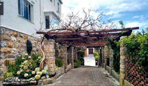 Pergola at Entrance