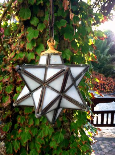 Star light lantern at Blue on Blue B&B