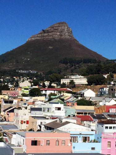 Bo-Kaap with Mountain in Back