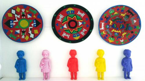 Art Plates and Dolls