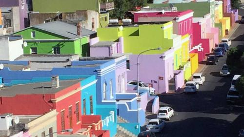 Colorful Houses in Bokaap